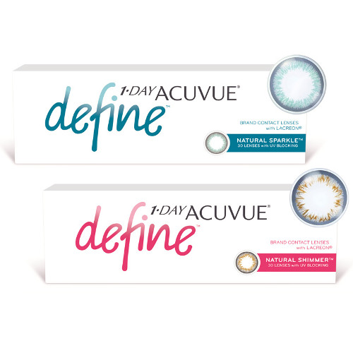 lentile Acuvue 1-Day Define 30 buc