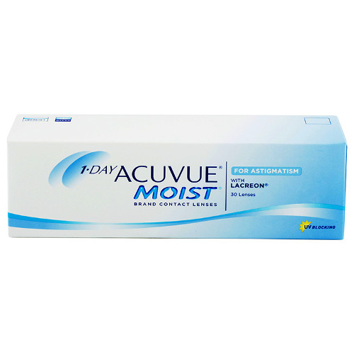 lentile Acuvue 1-Day Moist for Astigmatism 30 buc