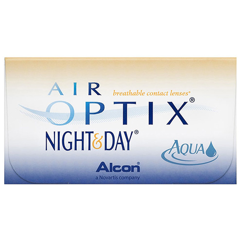 lentile Air Optix Night&Day Aqua 6 buc
