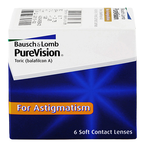 purevision toric 6 buc